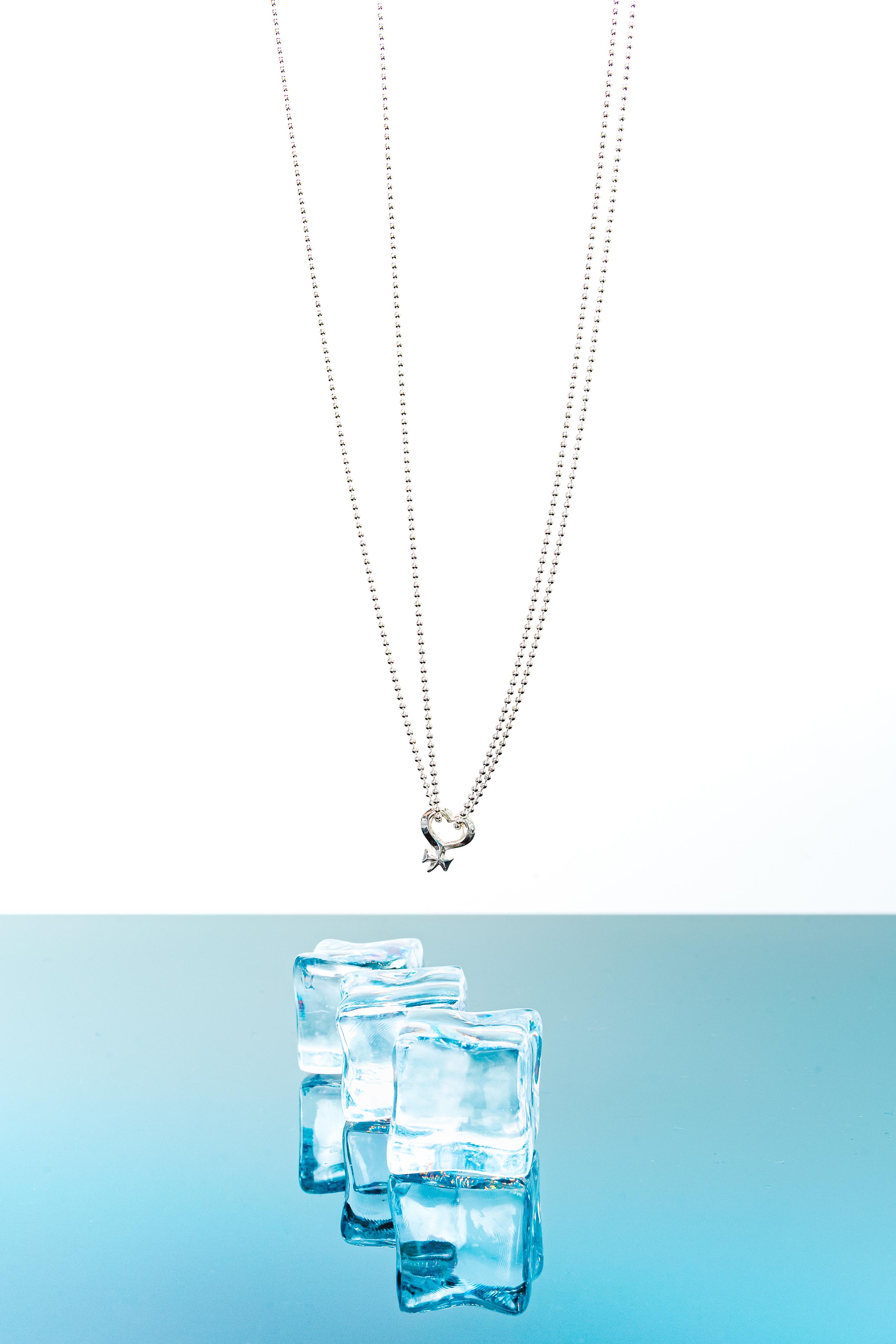 Halskette silver/ HEART-VENUS KOLLEKTION